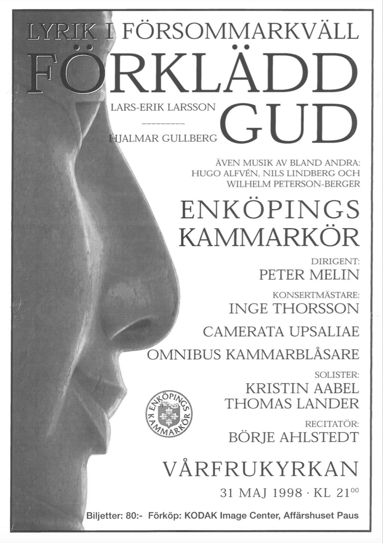 1998-affisch-forkladd-gud-med-enkopings-kammarkor