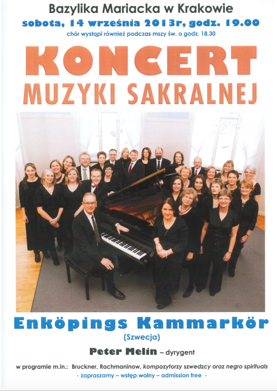 2013-affisch-konsert-i-maria-katedralen-i-krakow-med-enkopings-kammarkor