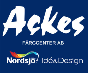 Ackes Färgcenter logga