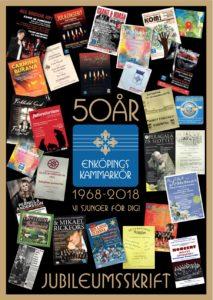 Enköpings Kammarkörs jubileumsskrift 50 år