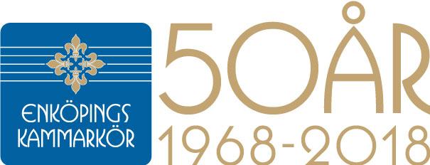 Enköpings Kammarkör firar 50 år 2018.